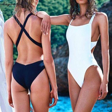Women One-Piece Swimsuit Swimwear Backless Monokini Bikini Bathing Beach
