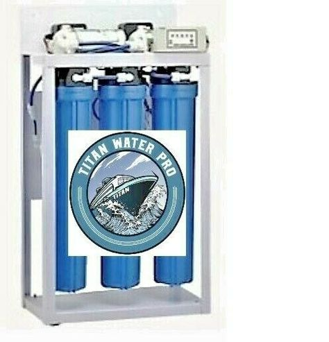 Details About Reverse Osmosis Water Filtration System 800 Gpd Dual