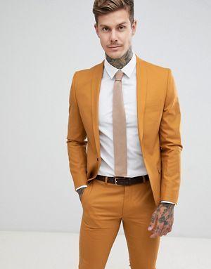 Veste de costume homme beige