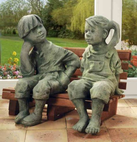 Handgefertige Turschilder Geschenk Dekoideen Gartenfiguren Kleine Holzbank Figur