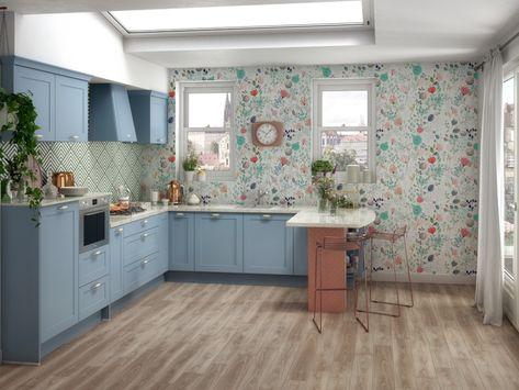 Une déco fleurie dans la cuisine - JOLI PLACE