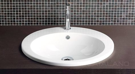 Oval Inset Wash Basin 540mm x 440mm