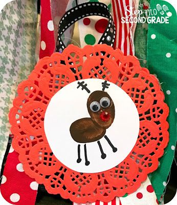 Reindeer Ornament (Step into 2nd Grade with Mrs. Lemons)