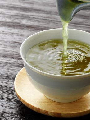 Grüner Tee mit Honig und Zimt zum Abnehmen