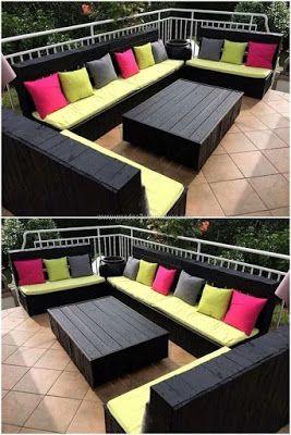 48 Creative Diy Outdoor Pallet Furniture Design Ideas In 2020 Pallet Furniture Sofa Pallet Furniture Outdoor Diy Pallet Sofa