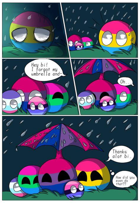 The bi umbrella :D: lgballt