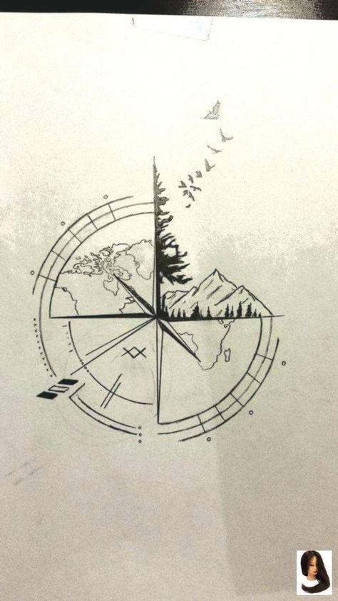 #awesome #Compass #drawing ideas #Ideas #Tattoo 100+ Awesome...- #awesome #Compa... - #awesome #compa #compass #Drawing #Ideas #Tattoo