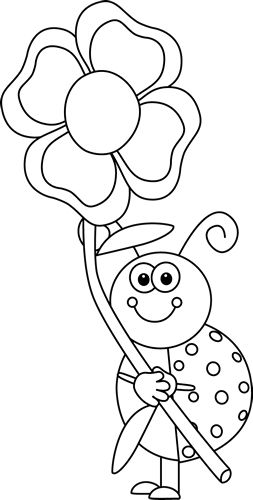 Image Result For Spring Clipart Black And White Helen S Young 3 S
