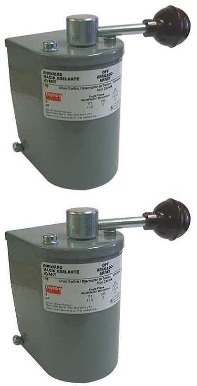 Dayton 4uyf1 Switch Drum Reversing Steel Handle Steel Handle Fuse Box Steel