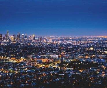 Theme Builder Layout City Lights At Night Los Angeles City