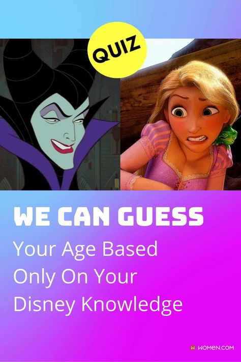 Take this fun Disney trivia from some of the greatest Disney movies of all time! Including favorites such as Snow White and the Seven Dwarfs and Sleeping Beauty! We'll guess your age based on your answers. #disneyprincess #disneywomen #disneybeauty #disneyQuizzes #loveDisney #disneyQuiz #funQuiz #DisneytriviaQuizzes #DisneyPrincessQuiz #disneynostalgia #oldschool #disneymovies #disneynostalgic #disneymovies