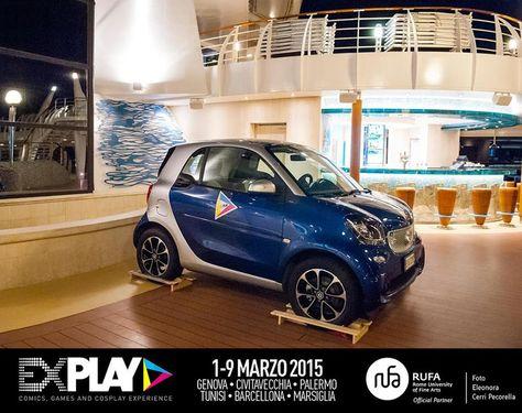 #ExPlay e #Smart • La nuova Smart: il premio perfetto per l'#ExPlayCosplayAward 1.0