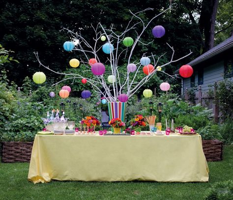 Backyard Party Ideas With Simple And Full Of Supplies Knick Knacks That Make A