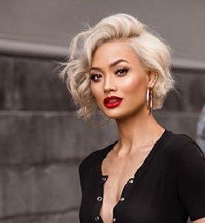 Pin By Rodan Fields Girl On Beauty Blonde Asian Hair Short Blonde Hair Short Platinum Blonde Hair