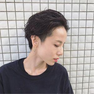 面長女子はツーブロックヘアにピッタリ♡人気の10選を紹介【2019