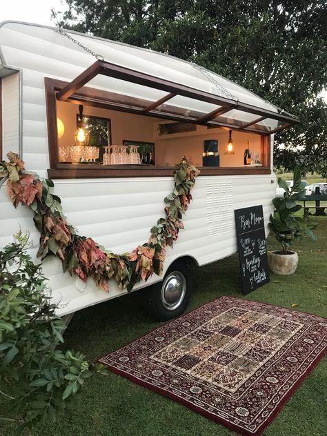 caravan decor 400890804329985859 - Caravan bar Source by sophieloquen Sunshine Coast, Foodtrucks Ideas, Caravan Bar, Caravan Decor, Bar Hire, Food Truck Design, Food Trailer, Camper Makeover, Trailer Remodel