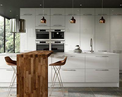 White Kitchen Cabinet Lovely Best 25 White Gloss Kitchen Ideas On