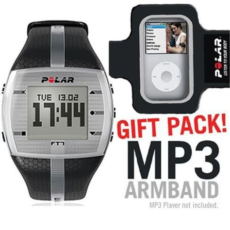 Polar 99039722 FT7M Black Silver with MP3 Armband * Be sure to check out this awesome product.