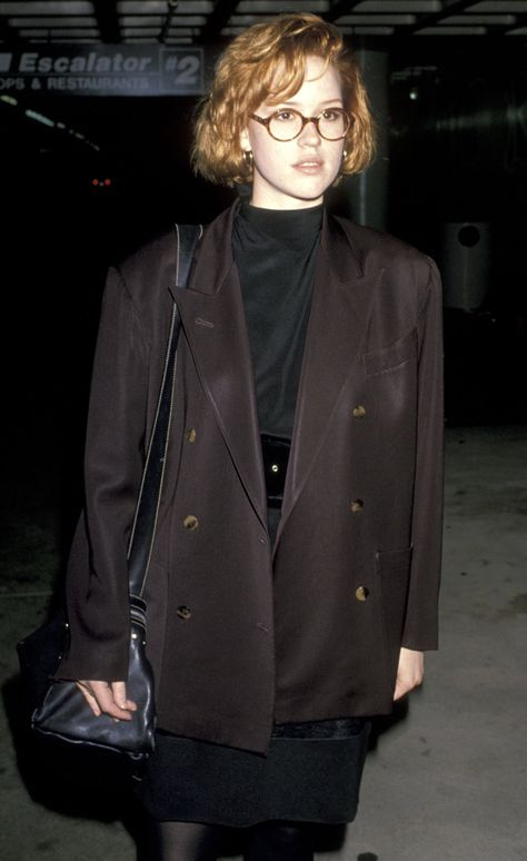 How Stars Dressed Long Before the Red-Carpet Era -- Molly Ringwald, 1989