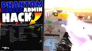 Phantom Forces Admin Hack Instant Kill Fly Esp Credit Hack