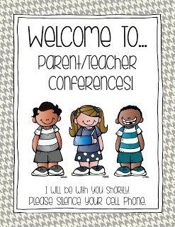PARENT/TEACHER CONFERENCE PREP FREEBIE | Classroom management
