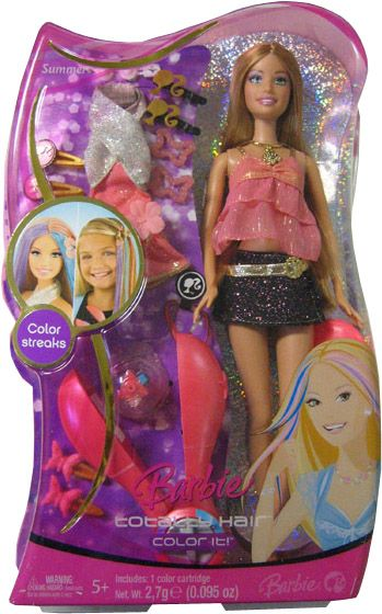 2007 Totally Hair Color It Summer Doll 2 In 2020 Barbie Fashionista Dolls Beautiful Barbie Dolls Pictures Of Barbie Dolls