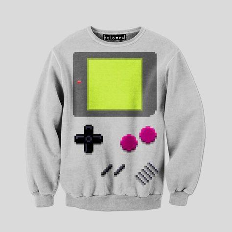 Gameboy Sweatshirt | Fancy - HandHeld Sweatshirt