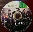 Saints Row the Third Disc Only Microsoft Xbox 360