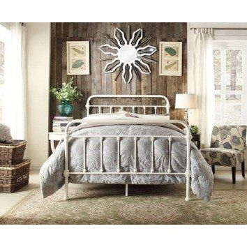Rawson Co White Carter Metal Bed Frame Reviews Temple