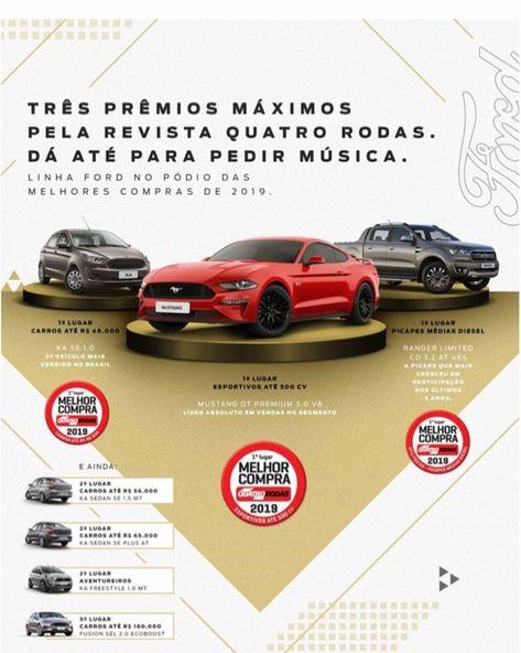 Linha Ford No Podio Das Melhores Compras De 2019 Quatrorodas Ford Divepe Jeep Pickup Jeep Gladiator Ford