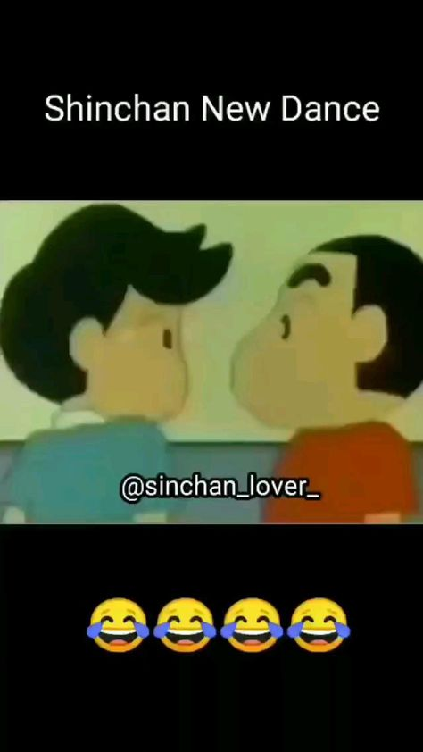 Shinchan's version of  Pani Pani 😂