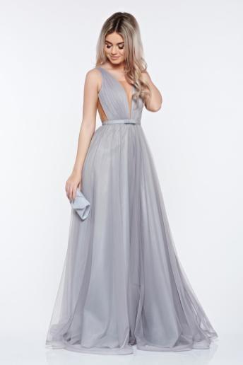 de unde să cumperi informații despre lansare pe informatii pentru rochie de seara lunga din voal gri în 2020   Rochii, Rochii ...