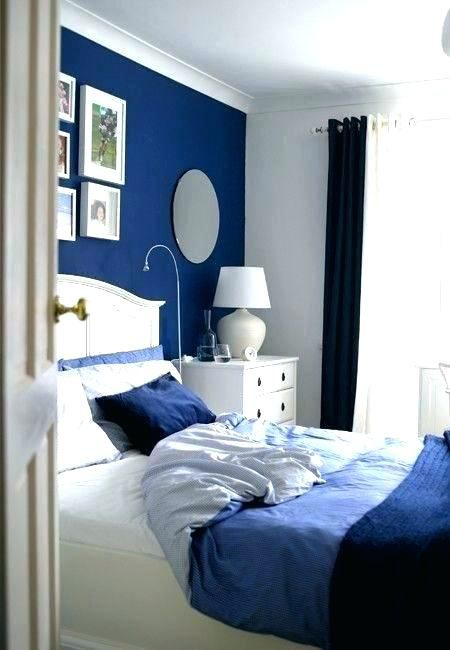 Marineblaues Schlafzimmer Dekorationsideen Decor White Bedroom