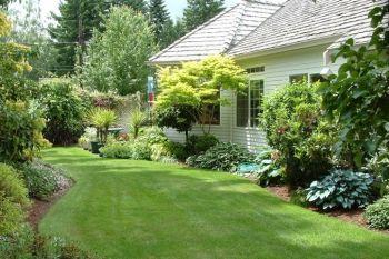 こだわりすぎるa型ママのおしゃれな輸入住宅づくり 外構 天然芝vs人工芝 メリット デメリットを比較した結果 選んだ芝は 芝庭 芝 庭