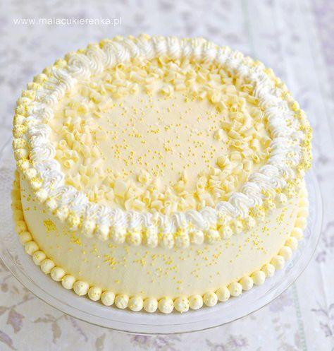 Lekki Tort Cytrynowy Przepis Desserts Cake Dessert Recipes