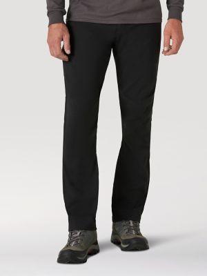 Atg By Wrangler Men S Trail Pant In Black Straight Fit Pants Pants Outdoor Men