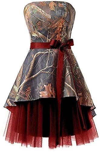 New Ci-ONE Short Homecoming Dress Camo Wedding Dress Tulle Prom Dress. Fashion womens dresses [$60.48]perfectpartyideas