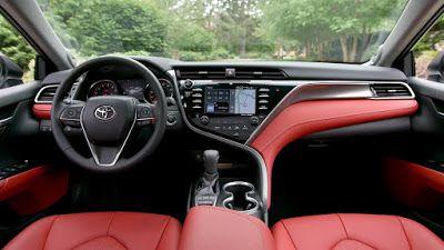 Toyota Camry Xse 2018 Red Interior 2017 Toyota Camry