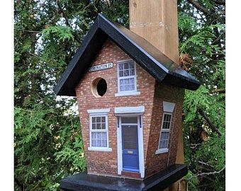 Custom Birdhouses Bird Feeders By Buyabirdhouse On Etsy Bird