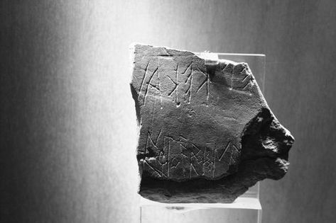 The Earliest Attic Graffito On Stone From The Acropolis Greek Writing Acropolis History Encyclopedia