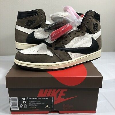 Nike Air Jordan 1 Retro High Og Travis Scott Cactus Jack Ds Men S