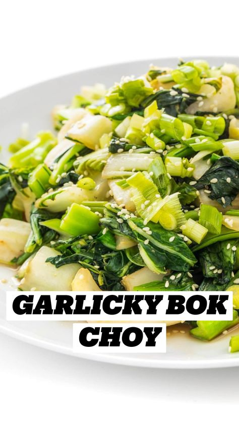 Garlicky Bok Choy