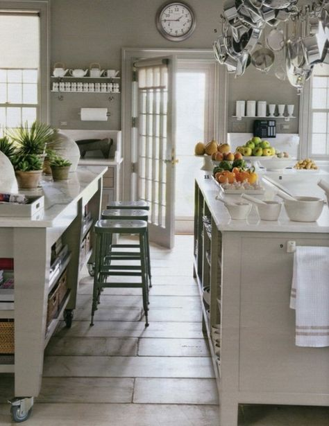 Pinterest gray farmhouse kitchen #kitchens