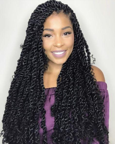 51 Goddess Braids Hairstyles for Black Women Long Goddess Twists