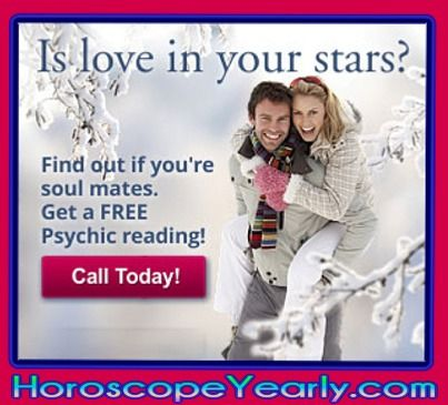 "Is love in your stars? Is he ""the one?"" Are you destined to be together? What type of soul mates are you, and what is your soul contract? Get a soul mate reading online from a psychic advisor and find out today! Click Here To Learn More: http://www.horoscopeyearly.com/love-psychics-phone/"