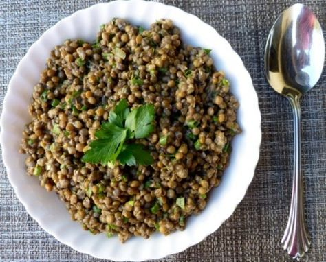 Simple Lentil Salad by Alice Waters via simple-nourished-living