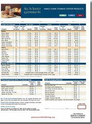 Home Storage Center Order Form from (www.providentliving.org ...