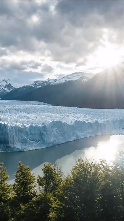 Perito Moreno Glacier in Argentina's Patagonia, an incredible natural wonder. If you are traveling to South America, this is one location that you definitely can't miss.