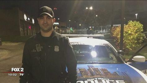 Funeral arrangements for a Detroit police officer killed in