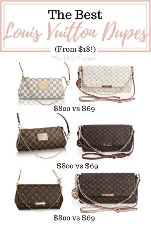 afef6dc8155 The Best Louis Vuitton Dupes That Money Can Buy(For Under $70 ...